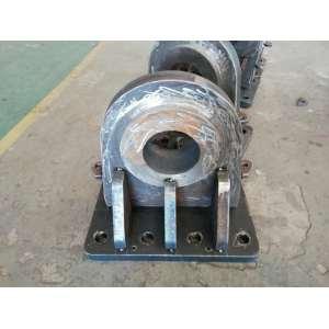 机加工坚固耐用的钢结构立轴底座