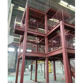Multi-industry-usable steel structure engineering Equipment rack customized for Japanese customers