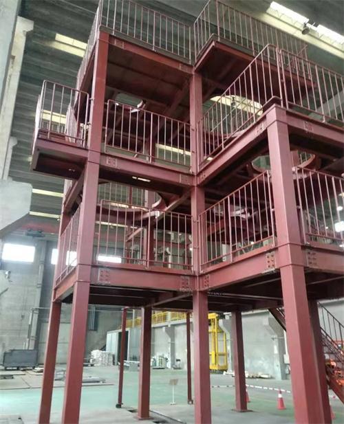 日本の顧客のための多産業鉄骨構造エンジニアリング機器ラック