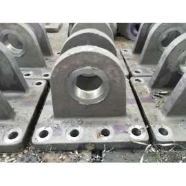 Machined to produce solid and excellent cast steel Flange base