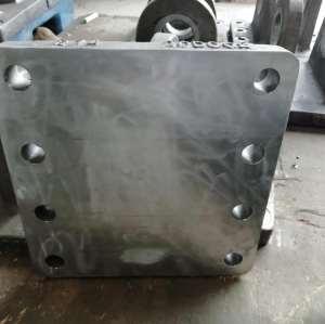 机加工制作坚固精良铸钢法兰底座