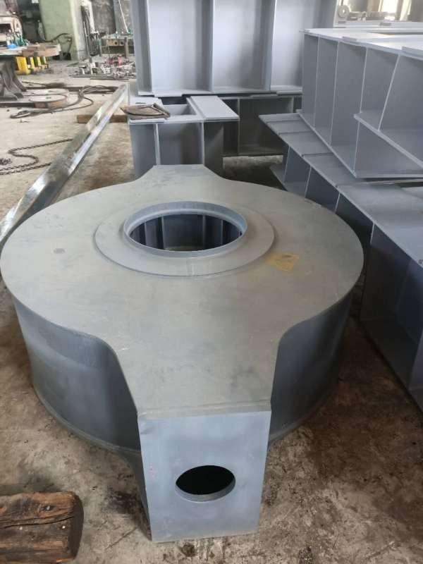 新しい積み下ろし機械のスタッカーリクレーマ部品の専門的な生産