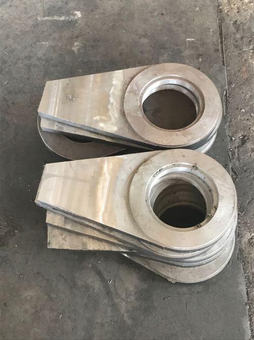 Hochwertige bearbeitete verschleißfeste Ausgleichsmaschinenbasis