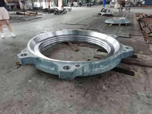 机加工矿山机械铸铁设备机架