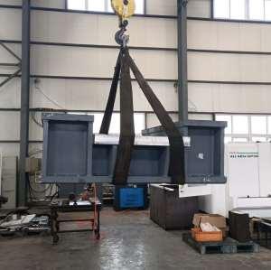 机加工生产坚固耐磨机床支撑底座
