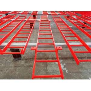 Sicheres und zuverlässiges Schweißen beweglicher Stahlkletterleiter