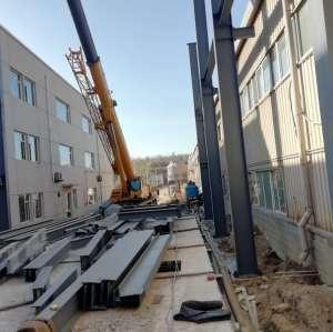 Entwerfen, fertigen und installieren Sie ein Bürogebäude mit Stahlkonstruktion, um einen neuen Arbeitsplatz zu schaffen!