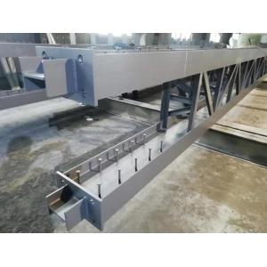 钢梁与钢柱强轴连接的钢结构格子柱
