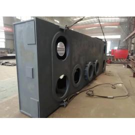 コークス炉設備用空調ユニットの一体型フレーム