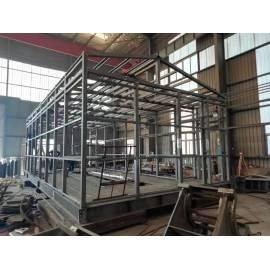 配电室设备的钢槽钢焊接平台的专业建设