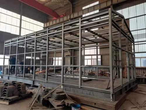 Professionelle Konstruktion von Kanalstahl Schweißstahlrahmenplattform für Verteilerraumausstattung