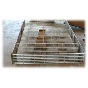 专业定制生产高强度钢格板梯子