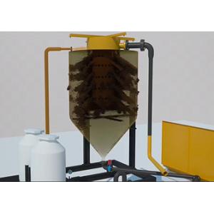Sistema de tratamiento de aguas residuales / Tratamiento / filtración de aguas residuales superficiales de sitios de construcción