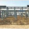 军事运动会青山沙排中心主体钢结构已建成!