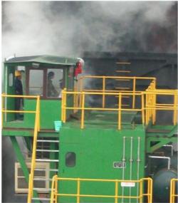 大动力节能型焦炉设备电力机车