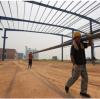 钢结构车间钢梁,钢柱安装技术