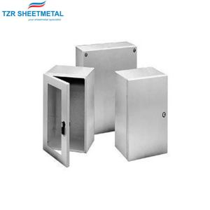 OEM customized aluminum stamping parts of high precision sheet metal processing and anodic treatment
