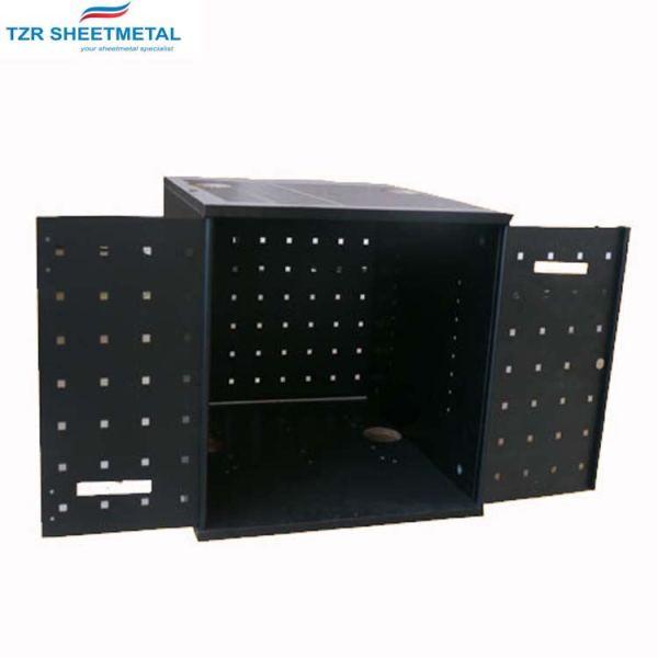 Custom Automotive Precision Bending Cutting OEM Sheet Metal Stamping Machine Small Parts Enclosure