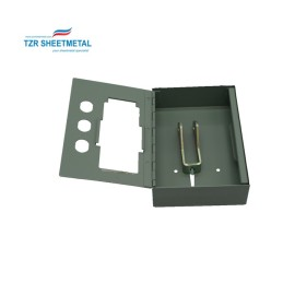 High quality custom sheet metal fabrication aluminum enclosure for medical device