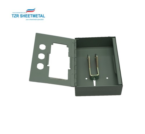 Gabinete de aluminio de fabricación de chapa personalizada de alta calidad para dispositivos médicos