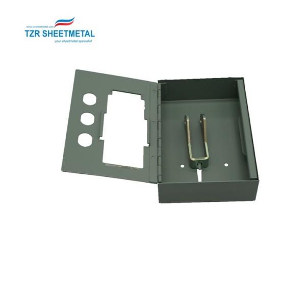 High quality custom sheet metal fabrication aluminum enclosure for medical device