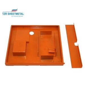 OEM-Customizing eloxieren Aluminiumblech Elektronikgehäuse