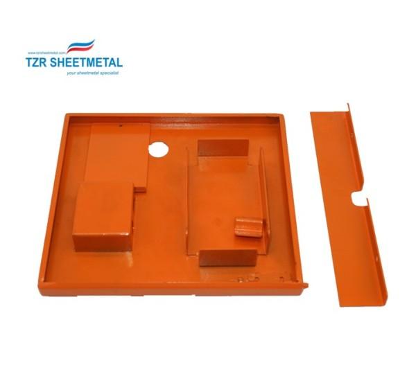 OEM customizing anodizing aluminum sheet metal electronics enclosure