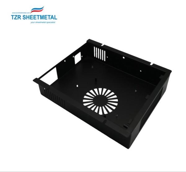 Custom galvanized metal sheet fabrication service metal sheet enclosure