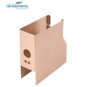 Großhandel Neupreis kleine benutzerdefinierte Blech OEM Metall Elektronikgehäuse Box