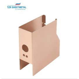 Wholesale factory price small custom sheet OEM metal electronics enclosures box