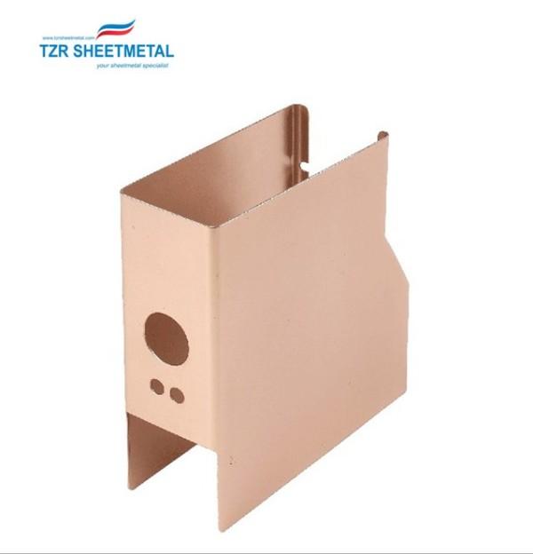 Wholesale factory price small custom sheet OEM metal electronics enclosures box