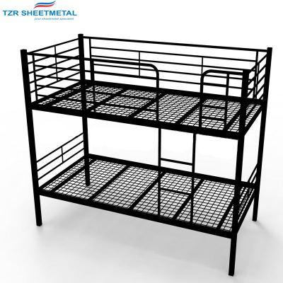 wohnmöbel schlafwand bett design queen size kinder metall etagenbett