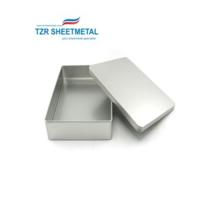 OEM Custom aluminum powder coating black sheet metal box enclosure for electrical parts