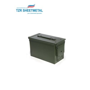 Customized high pressure wall mount electrical outdoor waterproof sealed sheet metal enclosure