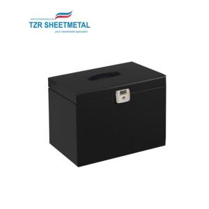 OEM one stop service electric sheet metal enclosure custom powder coated metal box fabrication