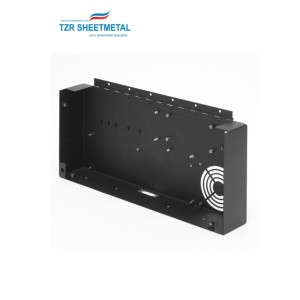 Sheet metal box fabrication security power supply enclosure sheet metal enclosure