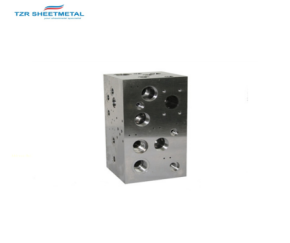 OEM Custom Percision CNC Machining Aluminum/Brass/SUS304 Hydraulic Manifold Manufacturer