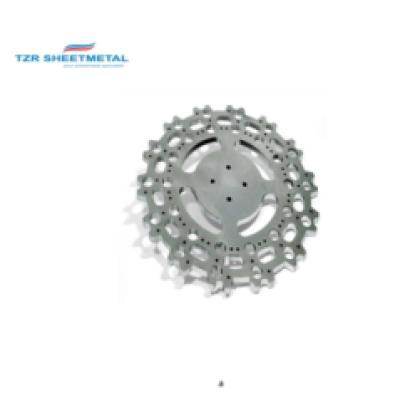 Shenzhen OEM Custom CNC Laserschneiden Verarbeitung AL5052.6061 / Stahl / SPCC / Messing Metallteile