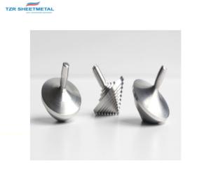 Kundenspezifische Qualität CNC Bearbeitung Metallbearbeitung Kupfer Kreisel Blechbearbeitung Spielzeug Hersteller