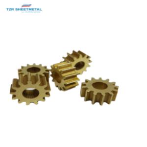 Kundenspezifische Qualität CNC Drehen / Fräsen Bearbeitung Messing / Kupfer Metallteile Hersteller
