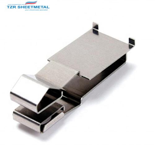 CNC Advanced Blechbearbeitung Schwarzer Zinküberzug