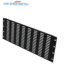 Blanking Panel 2U 19in Steel Black  Blank Rack Panel Filler Panel Rack Mount Panel