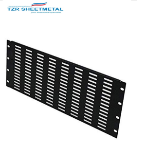 Blanking Panel 2U 19in Steel Black  Blank Rack Panel Filler Panel Rack Mount Panel