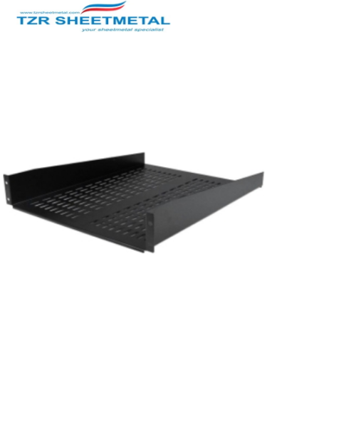 TZR Wholesale 2u 19 Zoll stapelbarer Schrank 300mm tief
