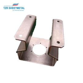 Custom Anodized Aluminum Bending Parts sheet metal stamping parts
