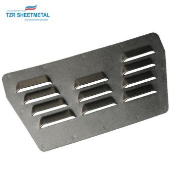 Kundenspezifische anodisierte Aluminiumbiegeteile Blechstanzteile