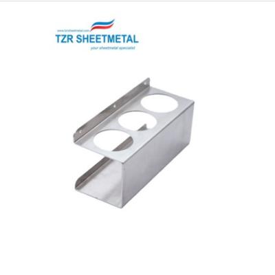 OEM Precision Sheet Metal Fabrication Biegen von Edelstahl Laserschneiden Stanzteile