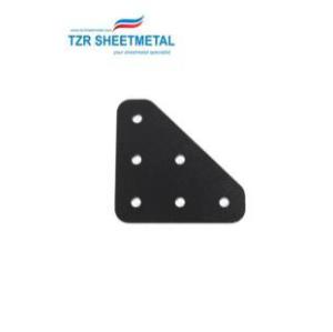 Oemの精密薄板金の製作はステンレス鋼レーザーの切断の押す部品を曲げます