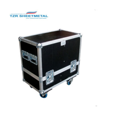 4U HR Road Style 4 Space halber Rack-Koffer