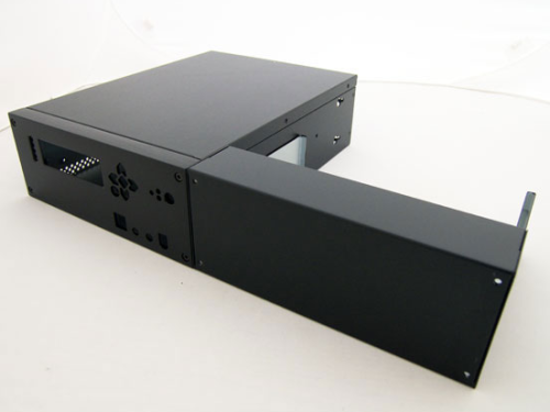 China am besten verkaufen halbe Rack tief stapelbar Audio-Gehäuse.